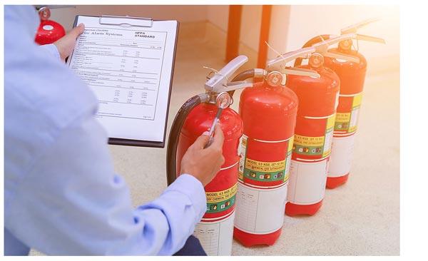 Как часто проверяются огнетушители